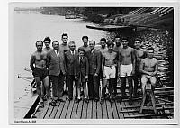 1944 ACBB Aviron photo de groupe