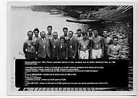 1944 ACBB Aviron photo de groupe légende